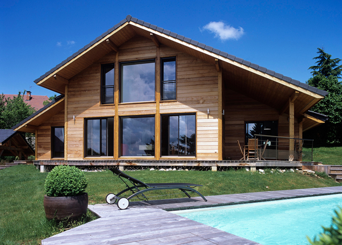 Cout construction maison en bois for Cout maison construction